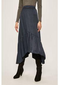 Niebieska spódnica ANSWEAR na co dzień, casualowa