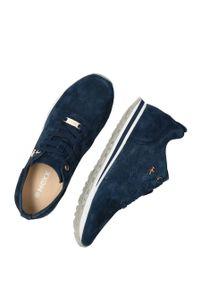 MEXX - Mexx - Buty Cirsten. Nosek buta: okrągły. Zapięcie: sznurówki. Kolor: niebieski. Materiał: guma