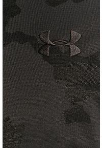 Czarna bluza rozpinana Under Armour bez kaptura, casualowa, na co dzień