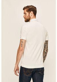 Biała koszulka polo Lacoste na co dzień, casualowa, polo