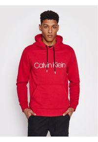 Calvin Klein Bluza Cotton Logo K10K107033 Czerwony Regular Fit. Kolor: czerwony