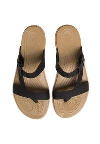 Czarne japonki Crocs