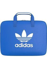 Niebieska torba na laptopa Adidas