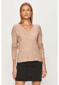 Sweter Jacqueline de Yong długi, z długim rękawem