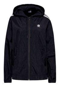 Czarna kurtka do biegania Adidas
