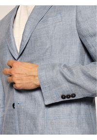 JOOP! Jeans - Joop! Jeans Marynarka 15 Jjb-16Holly-T 30026565 Niebieski Slim Fit. Kolor: niebieski