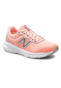 New Balance Buty W411lP2 Pomarańczowy. Kolor: pomarańczowy