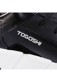 Czarne półbuty Togoshi casualowe, z cholewką #7