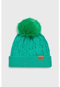 Zielona czapka Viking
