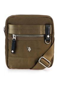 Brązowa torba U.S. Polo Assn elegancka