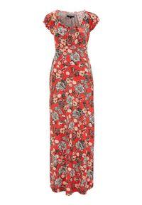 Czerwona sukienka Happy Holly maxi #1
