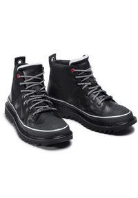 Czarne buty zimowe Diesel z cholewką
