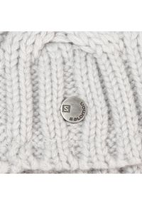 Szara czapka zimowa salomon rockowa