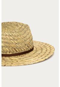 Beżowy kapelusz Brixton gładki