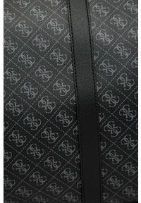 Czarna torba Guess Jeans z nadrukiem