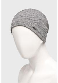 Szara czapka Viking melanż