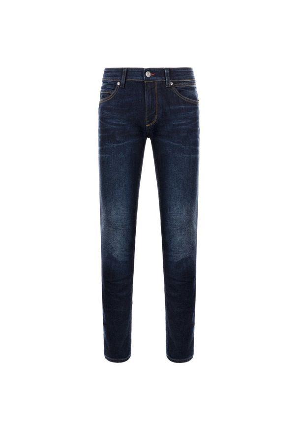 Niebieskie jeansy Napapijri