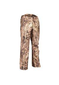 SOLOGNAC - Spodnie myśliwskie 100 WTP camo. Materiał: tkanina