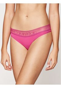 Różowe stringi Calvin Klein Underwear