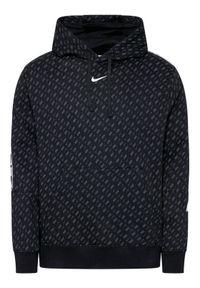 Nike Bluza Sportswear Repeat Fleece DD3774 Czarny Standard Fit. Kolor: czarny