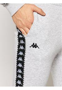 Kappa Spodnie dresowe Ireneus 309010 Szary Regular Fit. Kolor: szary. Materiał: dresówka