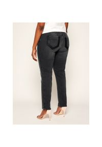 Szare jeansy slim Persona by Marina Rinaldi