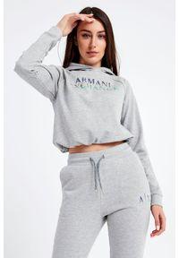 Bluza Armani Exchange sportowa, melanż