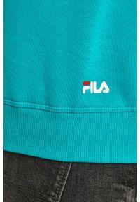 Bluza nierozpinana Fila na co dzień, z nadrukiem, z kapturem