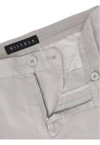 Vistula Chinosy Alain Duo XA1165 Szary Regular Fit. Kolor: szary