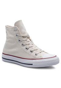 Beżowe buty sportowe Converse z cholewką