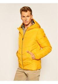 Guess Kurtka puchowa Super Light Puffa M0YL45 WD2T0 Żółty Regular Fit. Kolor: żółty. Materiał: puch