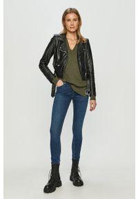 Cross Jeans - Jeansy Alan. Stan: podwyższony. Kolor: niebieski #4
