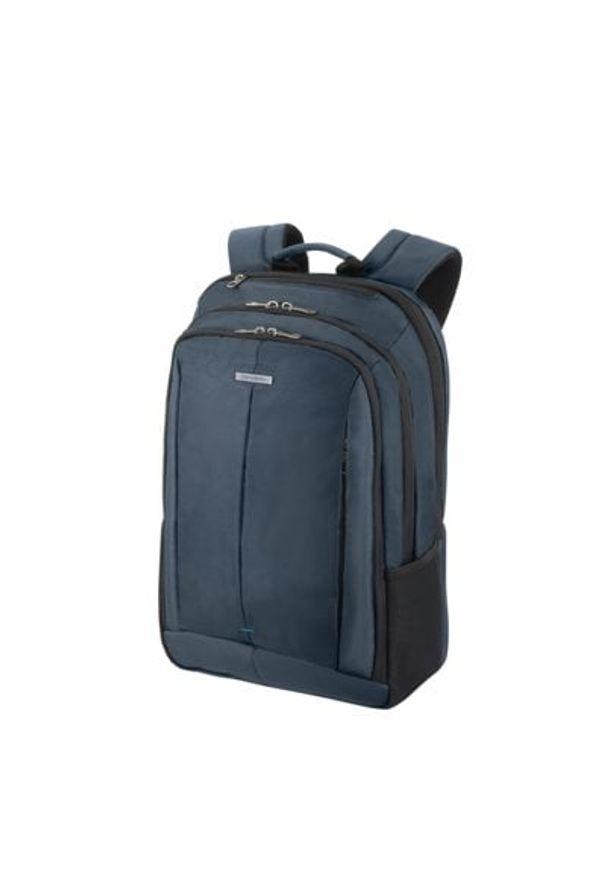 Niebieski plecak na laptopa Samsonite biznesowy