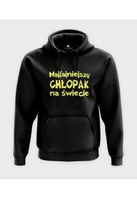 MegaKoszulki - Bluza z kapturem Najfajniejszy chłopak na świecie. Typ kołnierza: kaptur