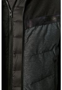 Czarna kurtka Jack & Jones na co dzień, casualowa, z kapturem