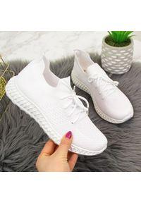 Białe buty sportowe McKeylor