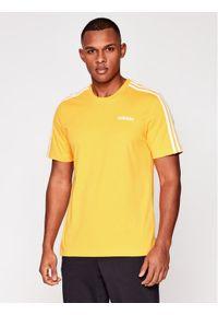 Żółty t-shirt Adidas