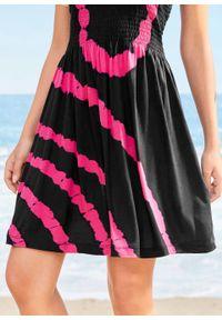 Czarna sukienka bonprix na plażę