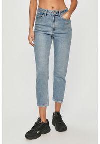 Niebieskie proste jeansy Jacqueline de Yong