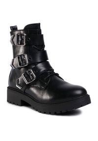 Czarne buty trekkingowe Jenny Fairy z cholewką
