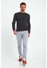Trussardi Jeans - SWETER TRUSSARDI. Okazja: na co dzień. Wzór: haft. Styl: casual