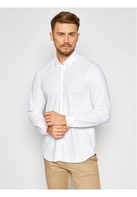 Biała koszula casual Pierre Cardin