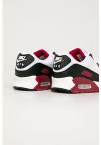Białe sneakersy Nike Sportswear na sznurówki, Nike Air Max 90, z cholewką