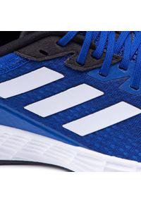 Niebieskie buty do biegania Adidas z cholewką