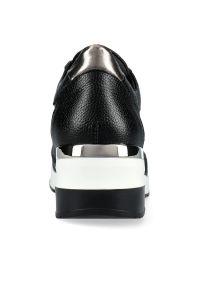 Czarne buty sportowe Arturo Vicci na co dzień