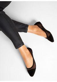 Czarne baleriny bonprix eleganckie