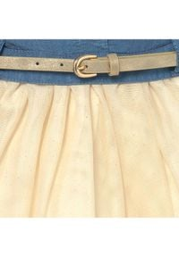 Mayoral Sukienka elegancka 1989 Kolorowy Regular Fit. Wzór: kolorowy. Styl: elegancki