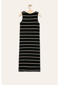 Czarna sukienka Kids Only casualowa, maxi