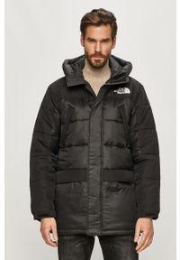 Czarna kurtka The North Face na co dzień, casualowa, z kapturem