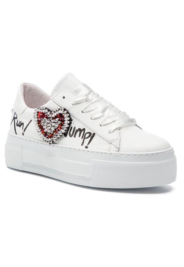 Białe buty sportowe Togoshi